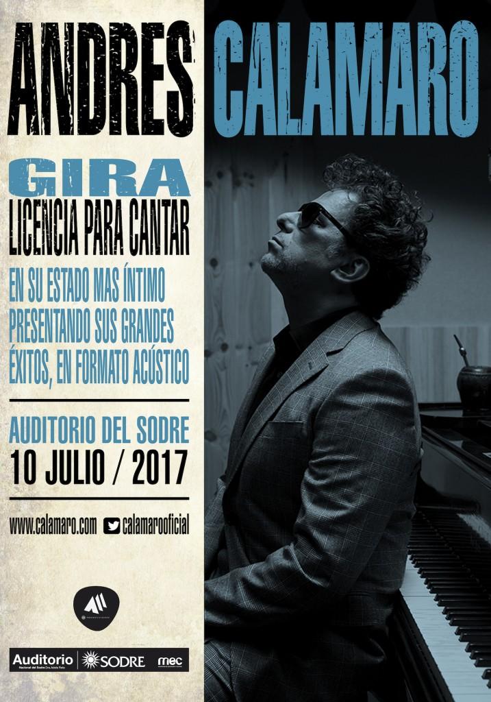 ANDRES CALAMARO - URUGUAY